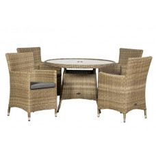 Wentworth Carver 4 Seat Dining Set