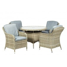 Wentworth Imperial 4 Seat Dining Set