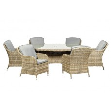 Wentworth Imperial Oval 6 Seat Dining Set