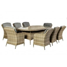 Wentworth Imperial Oval 8 Seat Dining Set