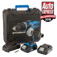 Storm Force 20V Combi Drill with Batteries and Charger