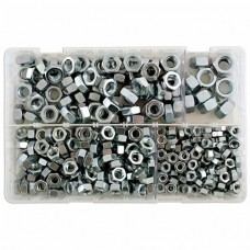 Connect Assorted Metric Steel Nuts M6-M12 x370