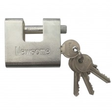 Newsome Steel Block Lock 60mm