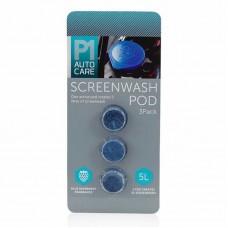P1 Autocare Screenwash Pods - 3 Pack
