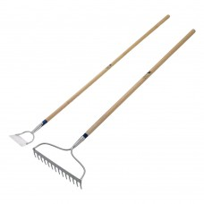 Bulldog Pedigree Bow Rake and Dutch Hoe Set
