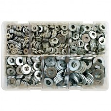 Connect Assorted Table 3 Flat Zinc Plated Washers x800
