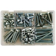Connect Assorted Metric M8 Screws and Nuts x154