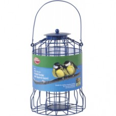 Wild Birds Fat Ball Feeder with Squirrel Guard