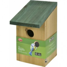 Wild Birds Wooden Nesting Box