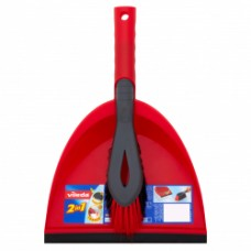 2-in-1 Dust Pan & Brush Set