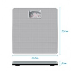 Mechanical Bathroom Scale - Silver