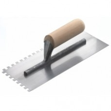 RST Square Notched Wood Handled Trowel
